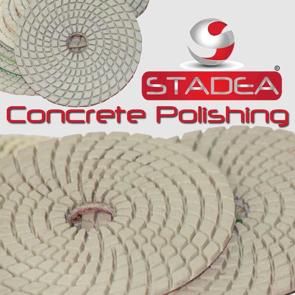 Concrete Polishing Pads Kit